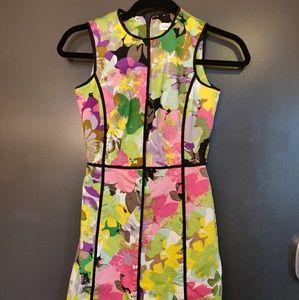 Calvin Klein flower dress